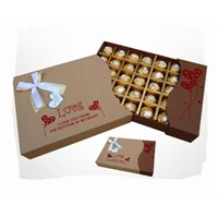 luxury cardboard chocolate box
