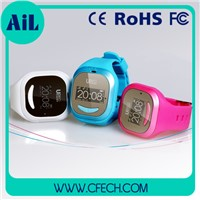 Smart Watch Kids GPS Tracking Watch Blue And Pink Color Kids Smartwatch GPS Wrist Watch cheapst