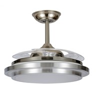 Chandelier Crystal LED Light Ceiling Fans
