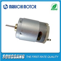 20V DC 17200rpm High Speed Permanent Magnet Mini Carbon Brush Mabuchi Motor for Hand Dryer