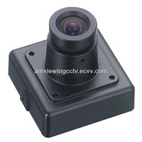 420TVL Mini Security Camera with Audio, 1/3'' Sony CCD, Board Lens, with BNC Connector.