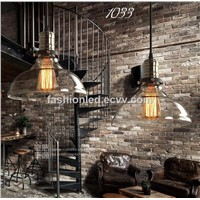 American retro minimalist industrial chandelier IKEA creative style restaurant bar clothing edison