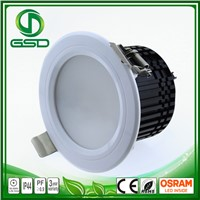 18W LED downlight IP40 quality products Aluminum+PC