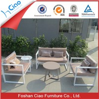 Cast aluminum balcony set outdoor specific use furniture