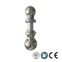 Chrome Gooseneck Ball Zinc Plating Finish Hitch Ball