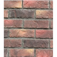 Wall covering culture Brick/rusty slate veneer stacked ledge culture Brick