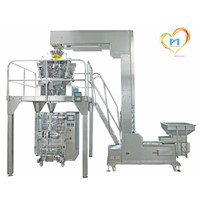 High counting precision granular packing machine automatic vertical packing machine for grain
