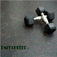 anti-static gym rubber floor mat(EN1177)