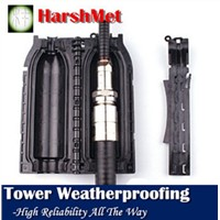 """Weather Protection Enclosure for 1/2"""" Jumper to 7/8"""" Feeder Connection"""