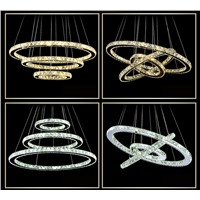 led pendant light modern adjustable crystal chandelier LD1152
