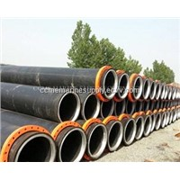 floating Dredging Pipes/HDPE pipe for dredger/dreg pipe with flange
