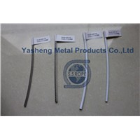 PVC and Nylon coated wire ropes 7x7 7x19 1x19