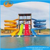 swimming pool fiberglasss  water slide