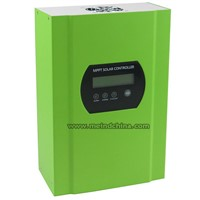 40A 12V/24V/48V Auto Switch LCD Display PV Regulator MPPT Solar Charge Controller with RS232