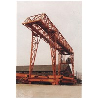 Beam fabricating gantry crane