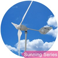 Sunning wind solar system 1000W wind turbine