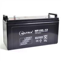 np100-12 12v 100ah vrla battery for solar system ups