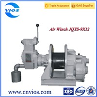 Single drum air winch for coal/gold mine