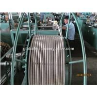 stainless steel corrugated hose making machine
