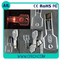 Hot Laser Printing Crystal USB Flash Memory Drive Made In China