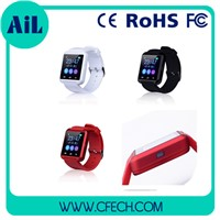 Hot Selling Fashion Smart Bracelet Bluetooth Watch Wrist Watch For Smartphone Accessory (U8)