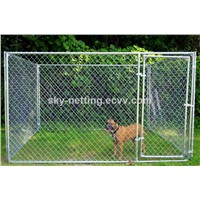 hot-dipped galvanized outdoor wholesale chain link dog kennel