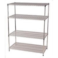 Heavy Duty Most Durable Stainless Steel Cold Room Shelving