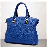 2016 wholesale new design genuine leather fashion handbag 100% cow leather handbag EMG4374