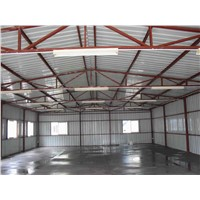 Design Prefabricated steel structure metal workshops for Tanzania
