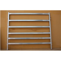 hot dip galvanized heavy duty 6 rail cattle corral fence panel Australia standard