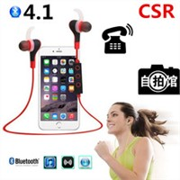 Wireless Bluetooth 4.1 Stereo Earphone Fashion Sport Running Headphone Studio Music Headset