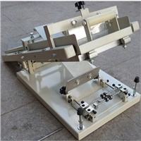 cheap cost hand pen screen printing machine for single color