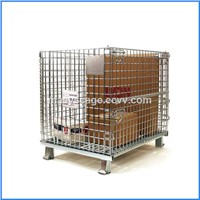 Steel Structure Warehouse Foldable Wire Mesh Cages
