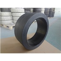 620x230x455 solid tyre with rim for milling machine