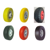 PU Solid Tyre 6x2,8x2.50-4,10x3.00-4