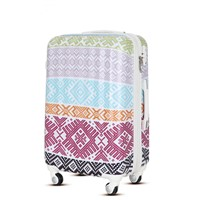travel trolley luggage bag with double spinner wheel