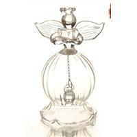Fashion Transparent Glass Angel Bell Series Christmas Day Glass Pendants Angel