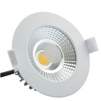 D90-10W White AC Driverless Dimmable  LED Down Light/LED Commercial Lighting