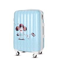 Travel trolley luggage set