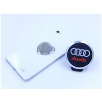 new silicone rubber Car logo acrylate magnet mounts mobile holders