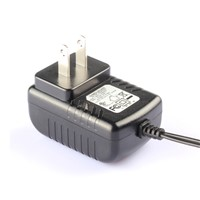 for set top box,game player 12v 1a 1.5a ac dc wall mount power adapter