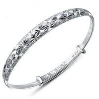 Wholesale Fashion Jewelry Solid 925 Sterling Silver Bracelet Engravable Bracelet Jewelry