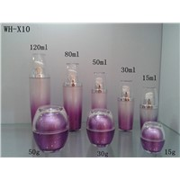 15g 30g 50g China Supplier Luxury Plastic Cosmetic Bottles