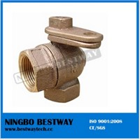 Bronze Ball Valve with Lock