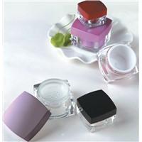 5gr 10gr 15gr 30gr 50gr  square sifter cream jar