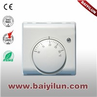 Mechanical thermostat underfloor heating system room thermostat