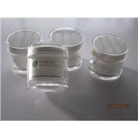 200ml round plastic  cosmeticfor jar,plastic jar