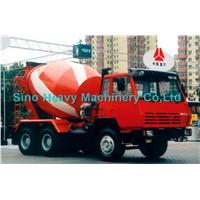 Sinotruk STEYR Concrete Mixer Truck 8cbm 6x4