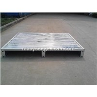 Heavy Duty Warehouse Storage Stackable Stainless Steel Pallet