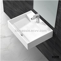 KKR artificial stone solid surface wash basin